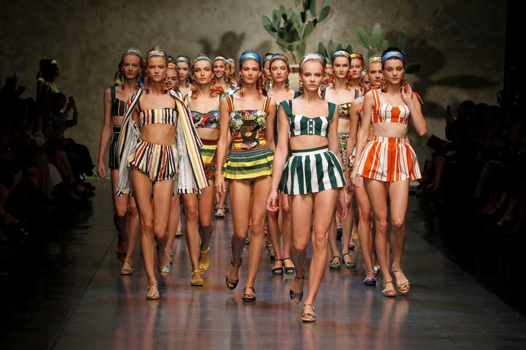 Defilé Dolce&Gabbana Printemps-Eté 2013