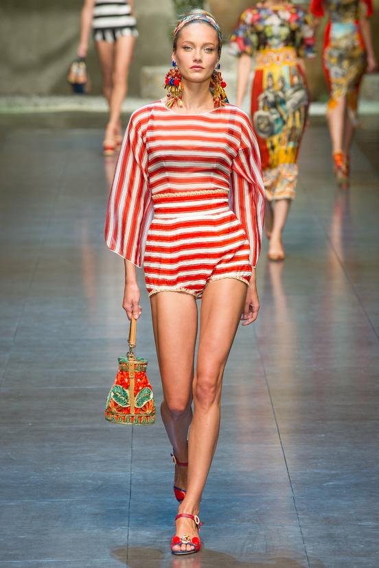 Dolce&Gabbana défilé Eté 2013