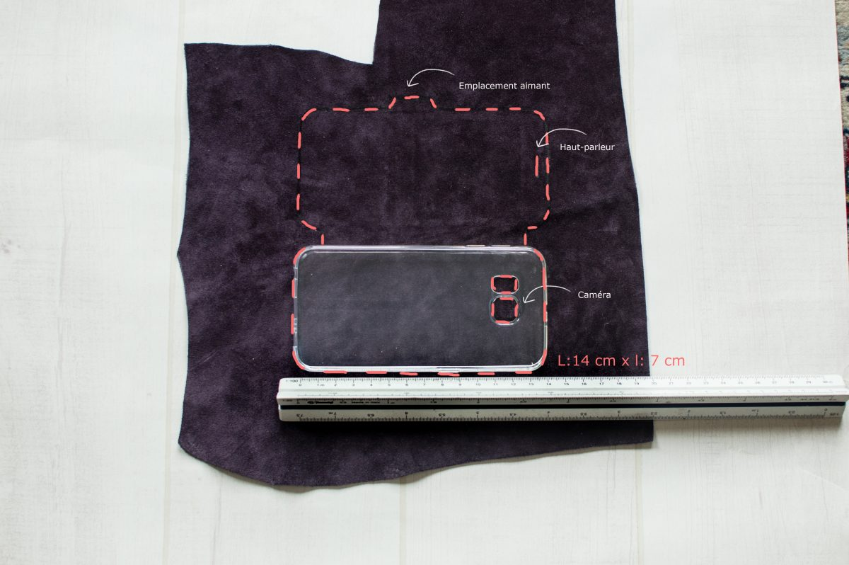 diy pochette telephone