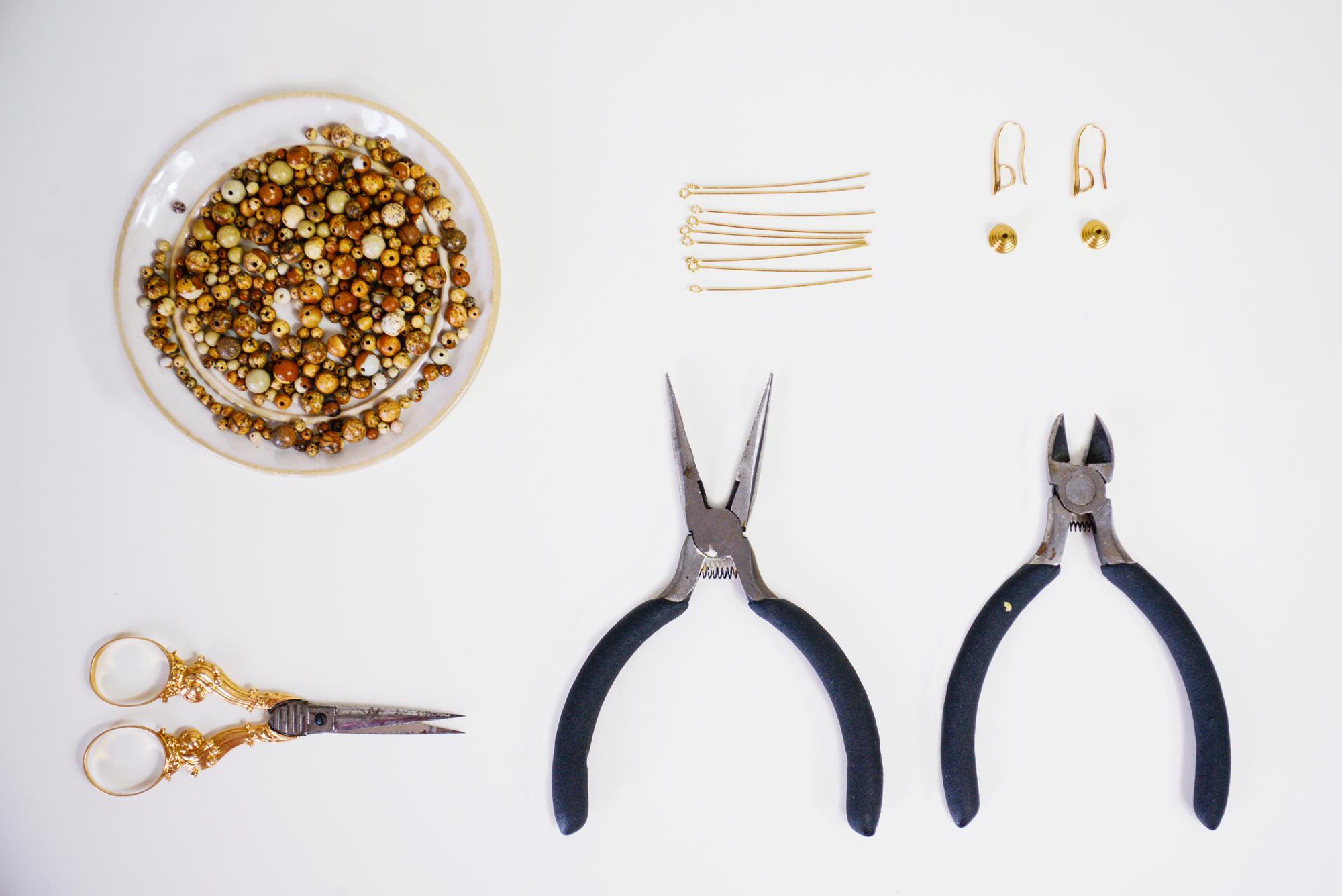 DIY boucles d oreilles jacquemus